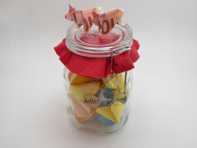 Vorsicht Gluckskekse Machen Glucklich Geldgeschenk Basteln